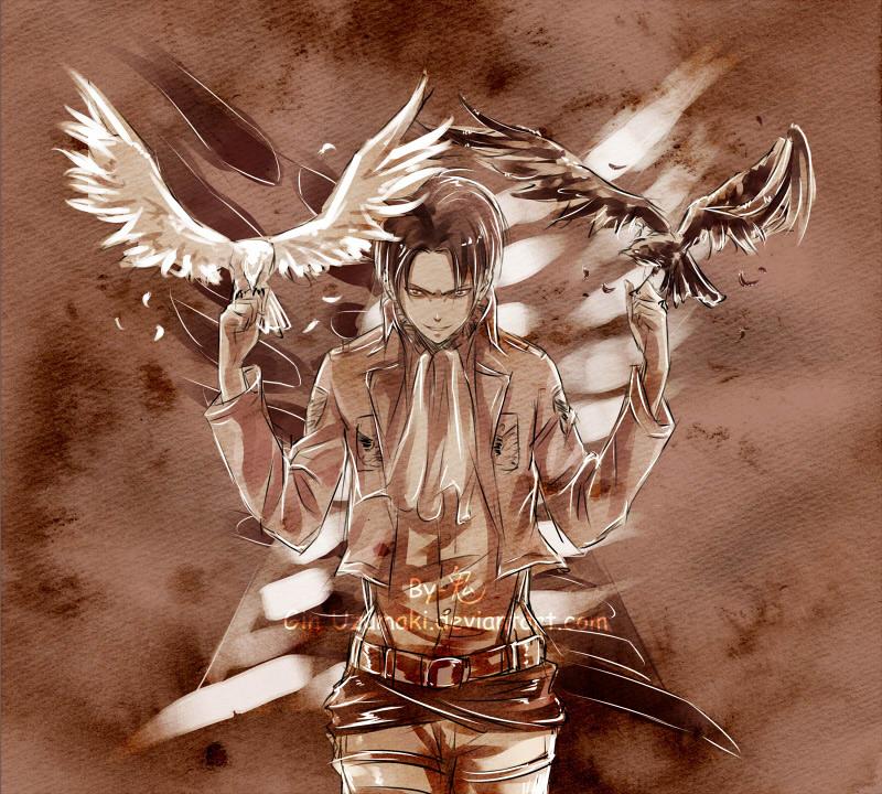 大人気漫画『 進撃の巨人 』の外国人ファンが描くファンアートが素晴らしい!18