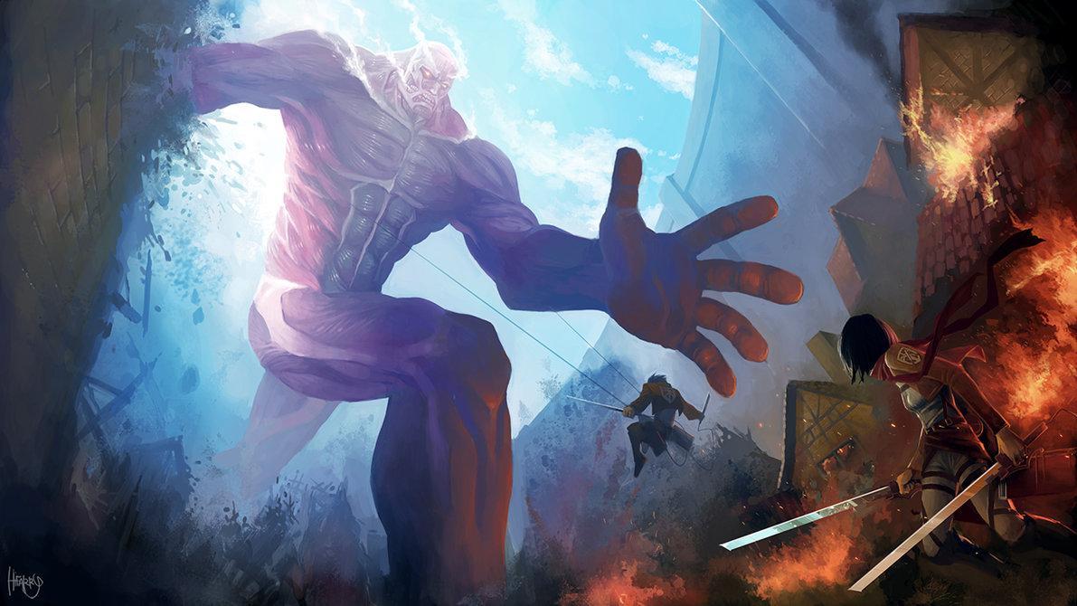 大人気漫画『 進撃の巨人 』の外国人ファンが描くファンアートが素晴らしい!13