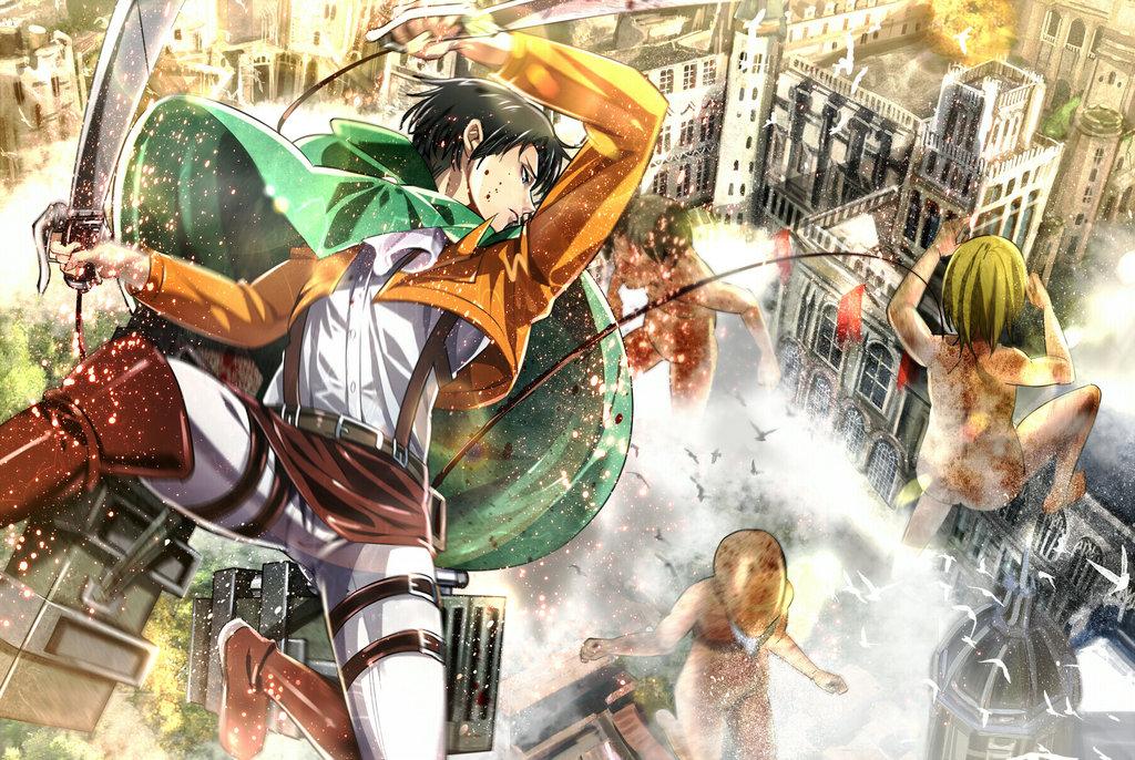 大人気漫画『 進撃の巨人 』の外国人ファンが描くファンアートが素晴らしい!7