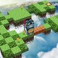 【Flashゲーム】頭の運動に!キューブ状の人物を転がしてゴールまで運ぶ『 Ballad of the Cube 』