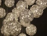 3Dプリンターで創る事を活かした、複雑で幾何学的な形状の照明器具_ペンダントタイプ