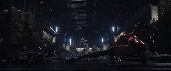映画『キャプテンハーロック』で使用された、キャラクターのリアルな表情を再現する技術『フェイシャルキャプチャー』メイキング映像が公開中7
