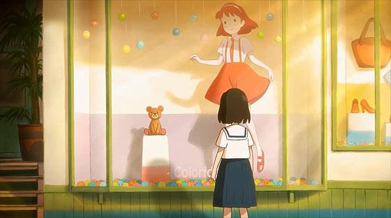 1人の少女とクマのぬいぐるみが見た夢のひと時を描く、ブランド『Control Bear』の優しいショートフィルムが面白い2