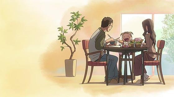 時と共に変わっていく家族の形と変わらない絆を描く、新海誠監督のアニメーション『 だれかのまなざし 』が公開中1