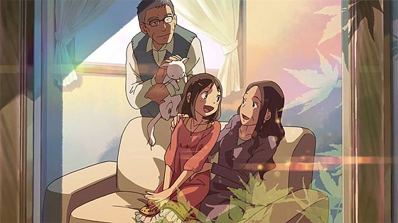 時と共に変わっていく家族の形と変わらない絆を描く、新海誠監督のアニメーション『 だれかのまなざし 』が公開中3