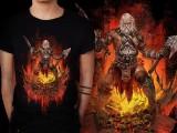 アクションRPG『 Diablo III 』をテーマに開催されている、Tシャツデザインコンテストの出来が素晴らしい12
