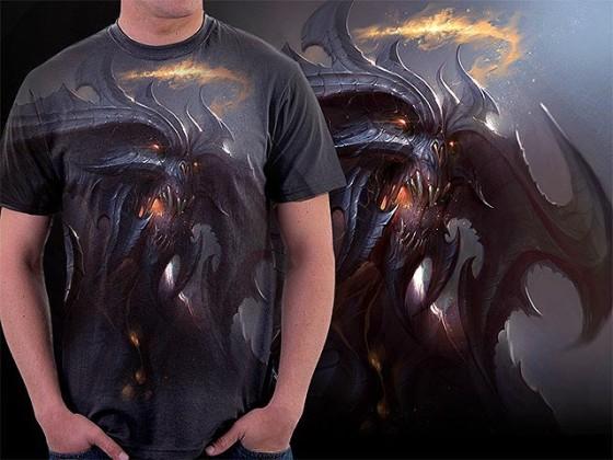 アクションRPG『 Diablo III 』をテーマに開催されている、Tシャツデザインコンテストの出来が素晴らしい15