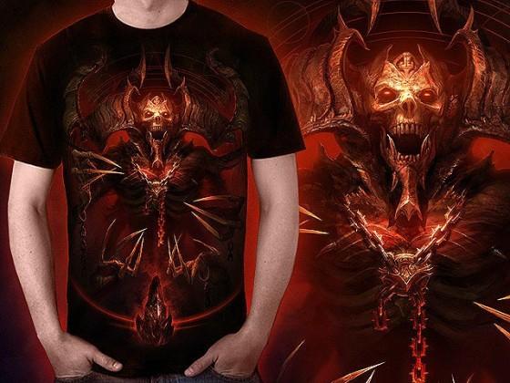 アクションRPG『 Diablo III 』をテーマに開催されている、Tシャツデザインコンテストの出来が素晴らしい16