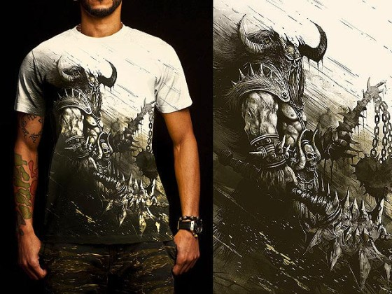 アクションRPG『 Diablo III 』をテーマに開催されている、Tシャツデザインコンテストの出来が素晴らしい19