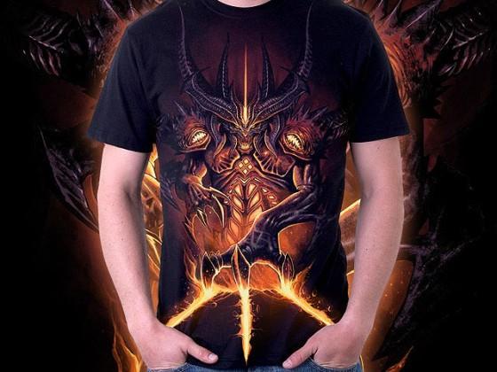 アクションRPG『 Diablo III 』をテーマに開催されている、Tシャツデザインコンテストの出来が素晴らしい2