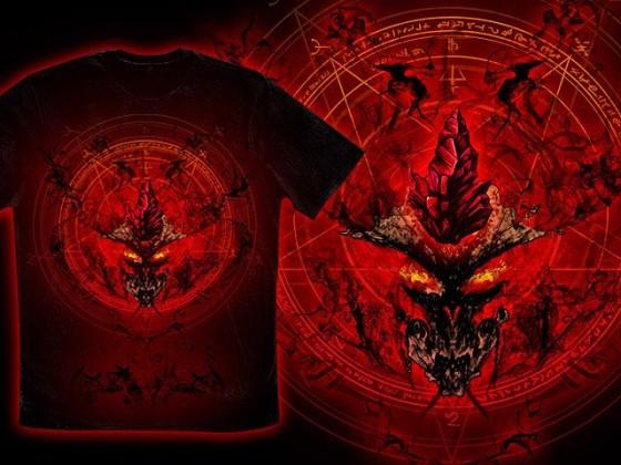 アクションRPG『 Diablo III 』をテーマに開催されている、Tシャツデザインコンテストの出来が素晴らしい20