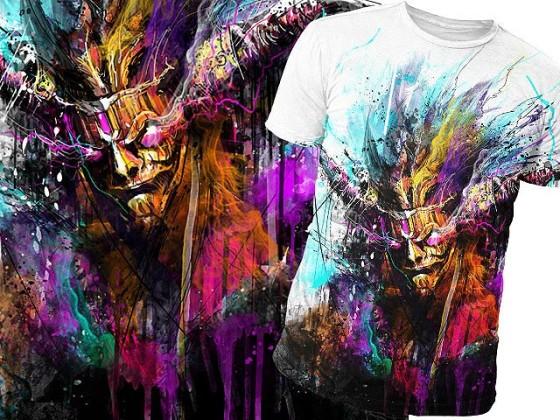 アクションRPG『 Diablo III 』をテーマに開催されている、Tシャツデザインコンテストの出来が素晴らしい21