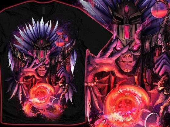 アクションRPG『 Diablo III 』をテーマに開催されている、Tシャツデザインコンテストの出来が素晴らしい22