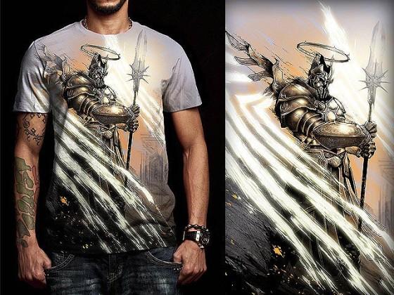 アクションRPG『 Diablo III 』をテーマに開催されている、Tシャツデザインコンテストの出来が素晴らしい25