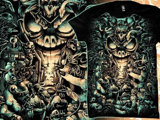 アクションRPG『 Diablo III 』をテーマに開催されている、Tシャツデザインコンテストの出来が素晴らしい3