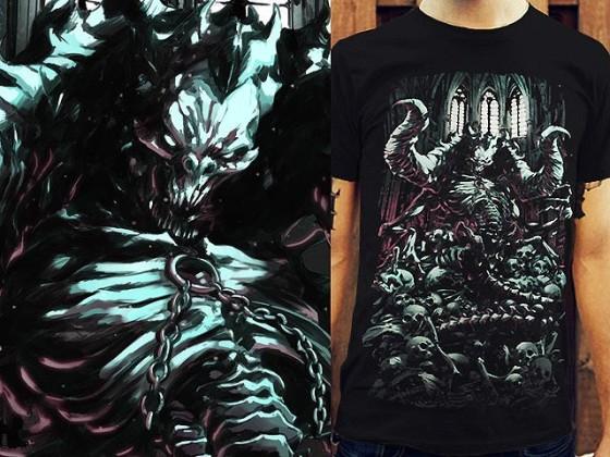 アクションRPG『 Diablo III 』をテーマに開催されている、Tシャツデザインコンテストの出来が素晴らしい4