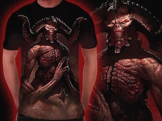 アクションRPG『 Diablo III 』をテーマに開催されている、Tシャツデザインコンテストの出来が素晴らしい5