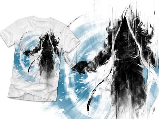 アクションRPG『 Diablo III 』をテーマに開催されている、Tシャツデザインコンテストの出来が素晴らしい7