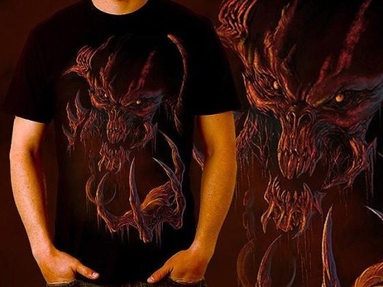 アクションRPG『 Diablo III 』をテーマに開催されている、Tシャツデザインコンテストの出来が素晴らしい8