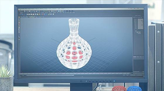 ナイロン樹脂やアクリル、チタンやシルバーでも3Dプリントや造型が可能な、DMMが始めた新サービス『 DMM3Dプリント 』のCM動画2