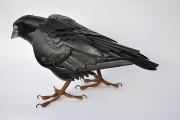 工業製品の廃材を組み合わせて作られた、とてもリアルでスチームパンクな生き物たちの彫刻作品2