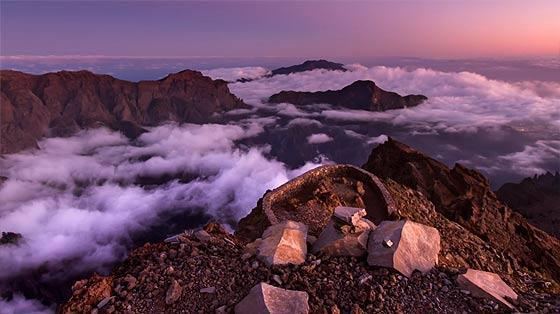 スペイン領カナリア諸島のラ・パルマ島の雄大な自然を収めた、息を飲む美しさのタイムラプス映像『 El Cielo de La Palma 』3