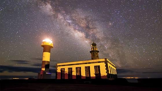 スペイン領カナリア諸島のラ・パルマ島の雄大な自然を収めた、息を飲む美しさのタイムラプス映像『 El Cielo de La Palma 』4
