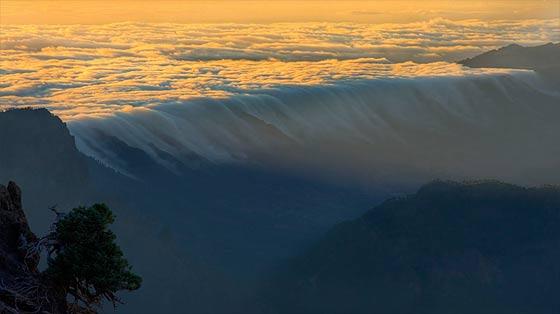スペイン領カナリア諸島のラ・パルマ島の雄大な自然を収めた、息を飲む美しさのタイムラプス映像『 El Cielo de La Palma 』5
