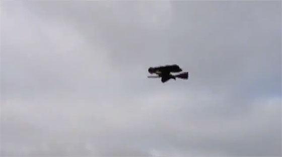 先日話題になっていた空飛ぶ魔法使いのGIF動画のタネ明かし2