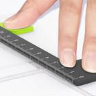 定規よりも長い直線を書く時に便利でスマートな定規