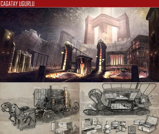 驚きのクオリティ...『 FZD School of Design 』の学生の描くコンセプトアートが素晴らしい11