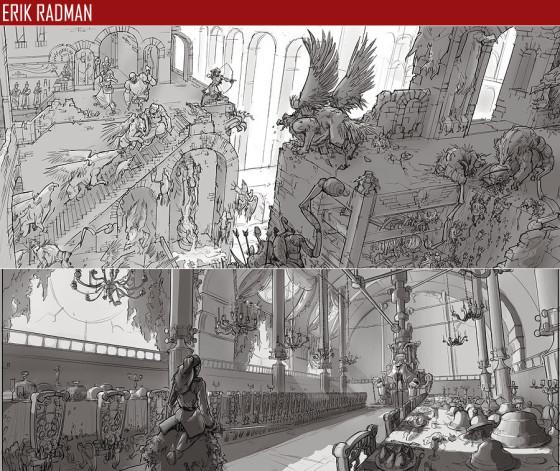 驚きのクオリティ...『 FZD School of Design 』の学生の描くコンセプトアートが素晴らしい16