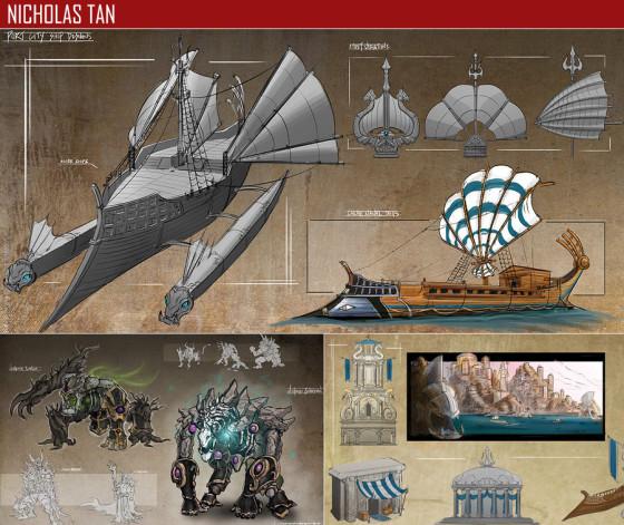 驚きのクオリティ...『 FZD School of Design 』の学生の描くコンセプトアートが素晴らしい21
