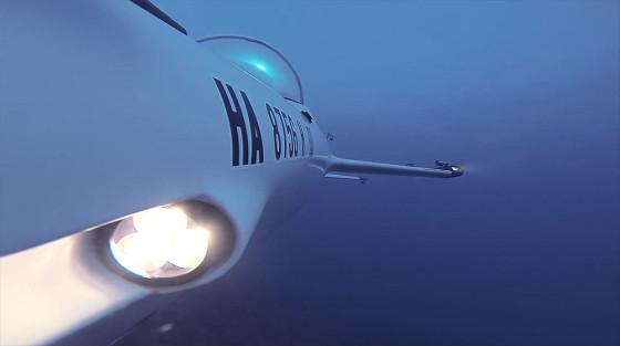 ビデオカメラ『GoPro』の、深い海の底でクジラの姿を捉えるキャンペーン動画4