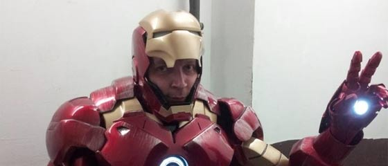 【驚きの】アイアンマンのコスプレを制作した男性の記録【クオリティ】