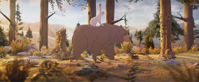 デパートJohn Lewisによる、クマとウサギの交流を描いたとっても心暖まるショートストーリー『 The Bear & The Hare 』1