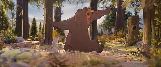 デパートJohn Lewisによる、クマとウサギの交流を描いたとっても心暖まるショートストーリー『 The Bear & The Hare 』2