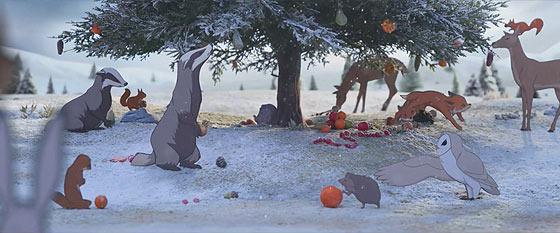 デパートJohn Lewisによる、クマとウサギの交流を描いたとっても心暖まるショートストーリー『 The Bear & The Hare 』3