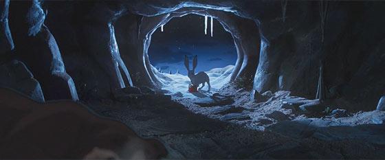 デパートJohn Lewisによる、クマとウサギの交流を描いたとっても心暖まるショートストーリー『 The Bear & The Hare 』4