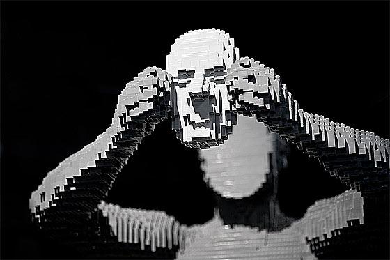 LEGOブロックを使ったディスプレー2