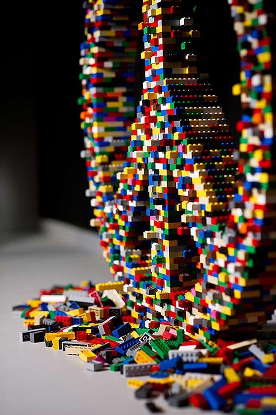 LEGOブロックを使ったディスプレー3