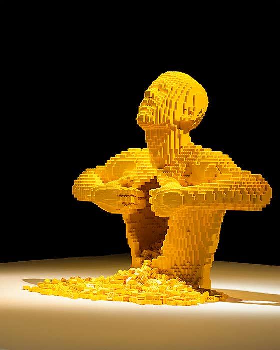 LEGOブロックを使ったディスプレー4