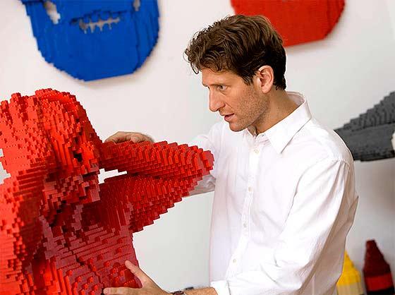 LEGOブロックを使ったディスプレー9