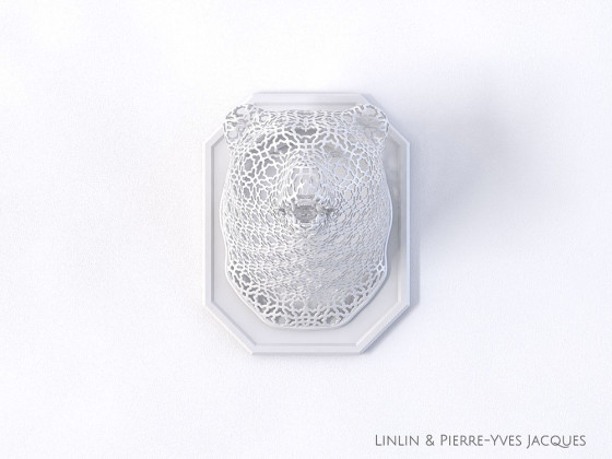 3D PRINTSHOW 2013で展示された、精緻な模様を動物の造型に彫刻した美しい照明作品7