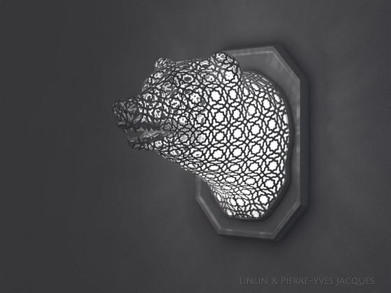 3D PRINTSHOW 2013で展示された、精緻な模様を動物の造型に彫刻した美しい照明作品9