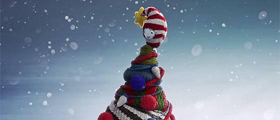 【動画】メリー・ニットマス!ニット帽をかぶったキャラクター達がクリスマスをお祝いする、とっても可愛い3DCGアニメーション『 Merry Knitmas 』