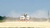 NASAが開発中の月面着陸船『 Morpheus 』が、約1分間の空中浮遊テストに成功した際の映像(と過去の失敗映像)2