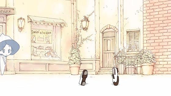 可愛らしい少女の幽霊が靴と踊り出す、楽しくてちょっぴり悲しくもあるアニメーション『 義足のMoses 』2