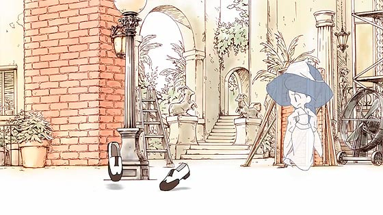 可愛らしい少女の幽霊が靴と踊り出す、楽しくてちょっぴり悲しくもあるアニメーション『 義足のMoses 』3