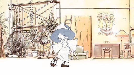 可愛らしい少女の幽霊が靴と踊り出す、楽しくてちょっぴり悲しくもあるアニメーション『 義足のMoses 』4